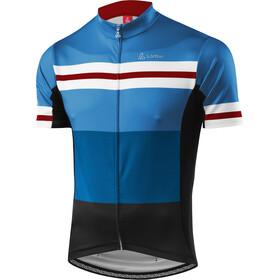 Löffler Giro Koszulka kolarska, krótki rękaw Mężczyźni niebieski/czarny